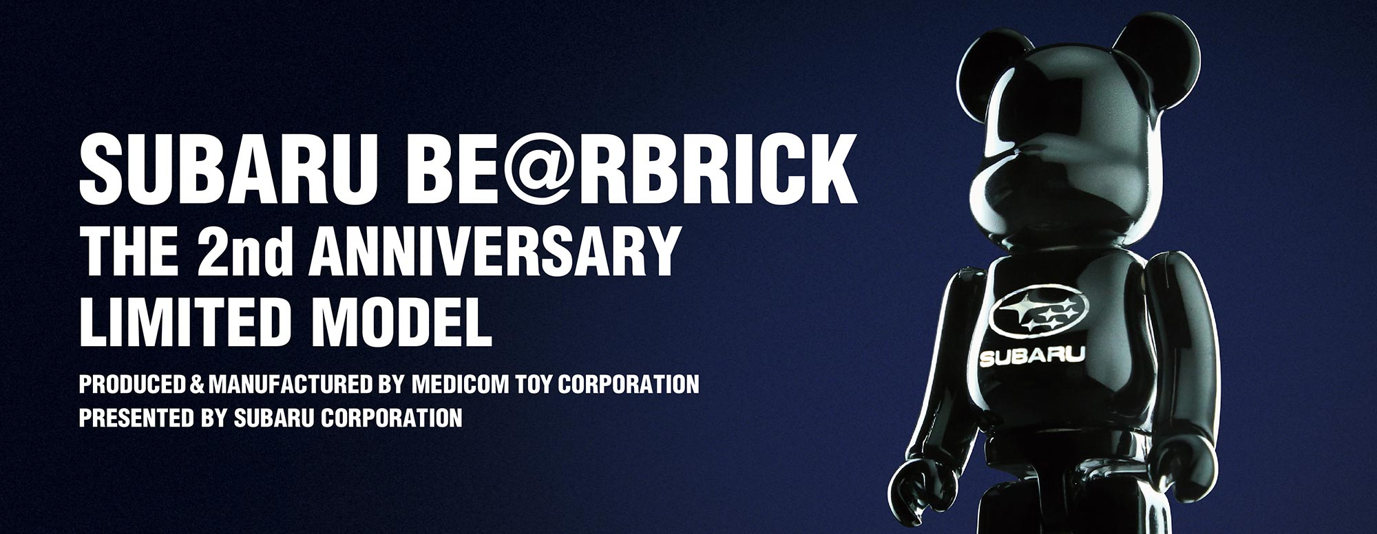 SUBARU BE@RBRICK THE 2nd ANNIVERSARY LIMITED MODEL