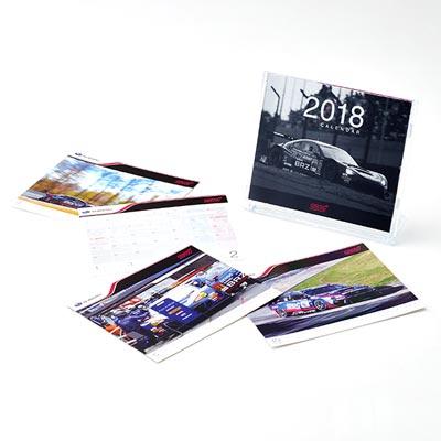 2018 モータースポーツデスクカレンダー