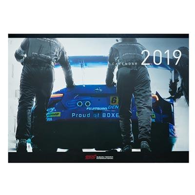 2019モータースポーツウォールカレンダー