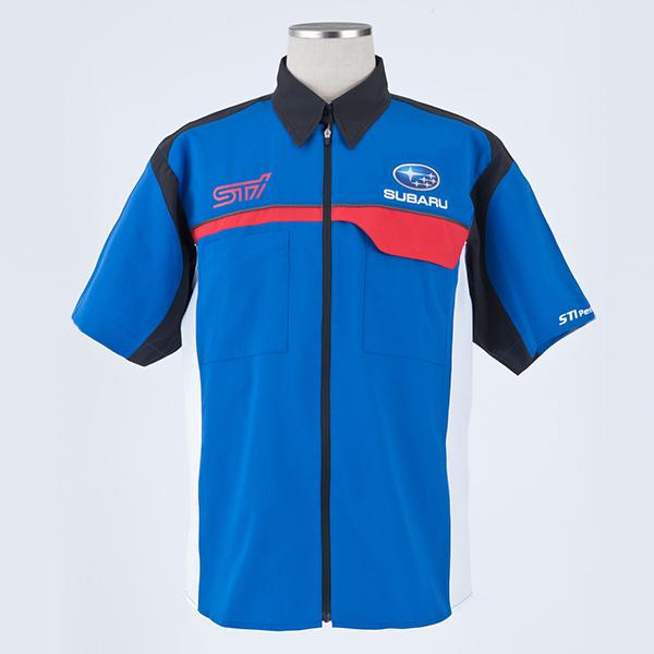 d49984c9d84d6b チームピットシャツ - STI : SUBARUオンラインショップ