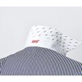 ドライビングシャツ(長袖)ストライプ