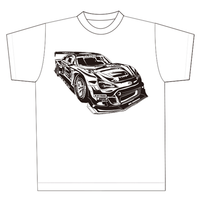 SUPER GT 2016記念Tシャツ/SUBARU BRZ GT フロント (キッズ)