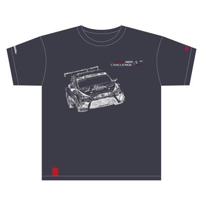 NBR2017記念Tシャツ 車両デザイン