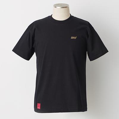 フレキシブルタワーバーTシャツ(BLACK×GOLD)