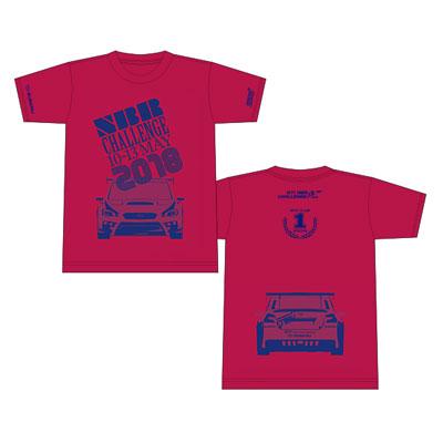 NBR2018記念Tシャツ(車両デザインB・ピンク)キッズ
